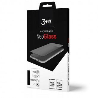 """Juodas apsauginis stikliukas """"3MK Neo Glass"""" Xiaomi Redmi Note 9 Pro / Note 9S telefonui"""