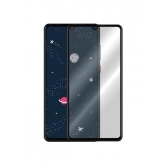 """Juodas apsauginis stikliukas """"5D Full Glue"""" Huawei P30 Lite telefonui"""