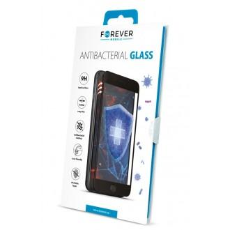 """Juodas apsauginis stikliukas Apple iPhone X / XS / 11 Pro telefonui """"Forever Antibacterial """""""