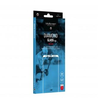 "Juodas apsauginis stikliukas ""MyScreen Diamond Edge Full Glue"" Apple iPhone 12 mini telefonui"