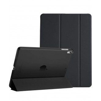 """Juodas atverčiamas dėklas Apple iPad Air 2019 """"Smart Leather"""""""