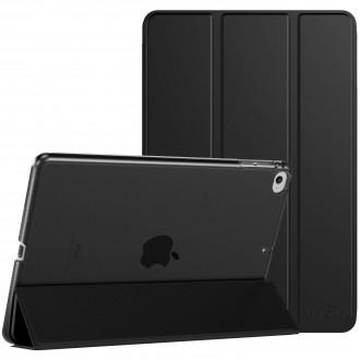 """Juodas atverčiamas dėklas Apple iPad mini 5 2019 """"Smart Leather"""""""