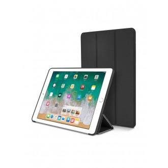"""Juodas atverčiamas dėklas Apple iPad Pro 10.5 2017 """"Smart Leather"""""""
