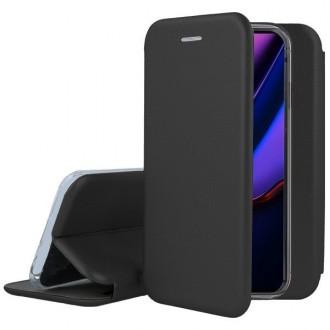 """Juodas atverčiamas dėklas Apple iPhone 11 Pro Max telefonui """"Book Elegance"""""""