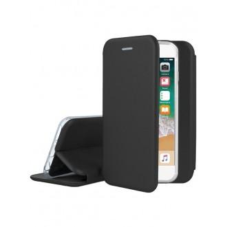 """Juodas atverčiamas dėklas Apple iPhone 7 / 8 / SE 2020 telefonui """"Book Elegance"""""""