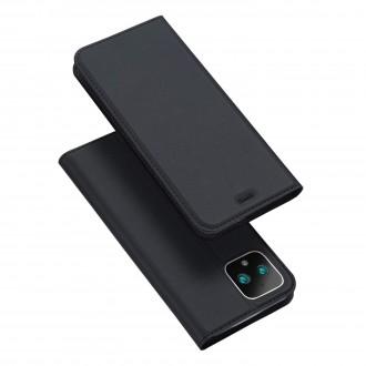 """Juodas atverčiamas dėklas Google Pixel 4 XL telefonui """"Dux Ducis Skin"""""""