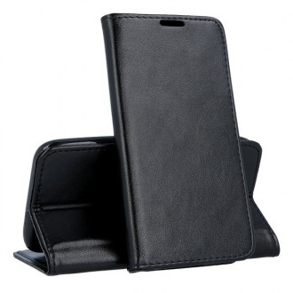 """Juodas atverčiamas dėklas """"Magnetic case"""" telefonui Huawei P30 Pro"""