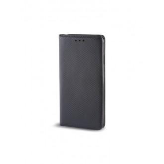 """Juodas atverčiamas """"Smart Magnet"""" dėklas telefonui Nokia 2.4"""