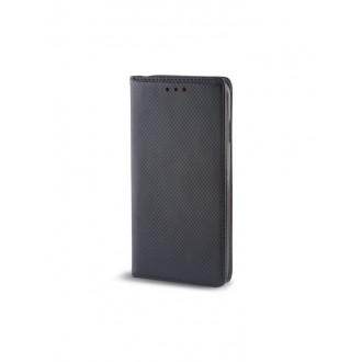 """Juodas atverčiamas dėklas Nokia 5  telefonui """"Smart Magnet"""""""