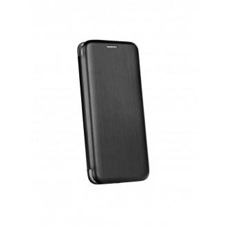 """Juodas atverčiamas dėklas Samsung Galaxy A520 A5 2017 telefonui """"Book Elegance"""""""