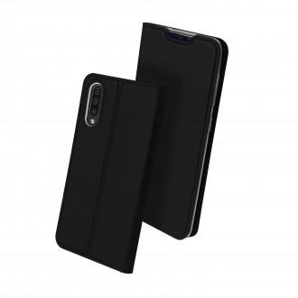 """Juodas atverčiamas dėklas Samsung Galaxy A705 A70 telefonui """"Dux Ducis Skin"""""""