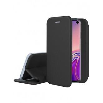 """Juodas atverčiamas dėklas Samsung Galaxy G970 S10e telefonui """"Book Elegance"""""""