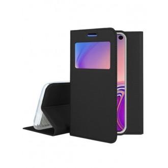 """Juodas atverčiamas dėklas Samsung Galaxy G970 S10e  """"Smart Look"""""""
