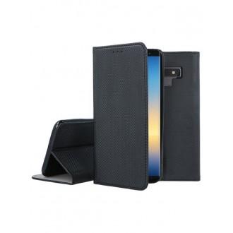 """Juodas atverčiamas dėklas Samsung Galaxy N960 Note 9 telefonui """"Smart Magnet"""""""