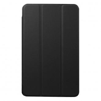 """Juodas atverčiamas dėklas Samsung T560 Tab E 9.6 """"Smart Leather"""""""