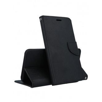 """Juodas atverčiamas dėklas Xiaomi Redmi Note 5 Pro  telefonui """"Smart Fancy"""""""