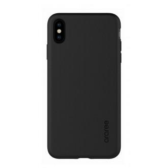 "Juodas dėklas ""Araree A-Fit"" Apple iPhone XS Max telefonui"
