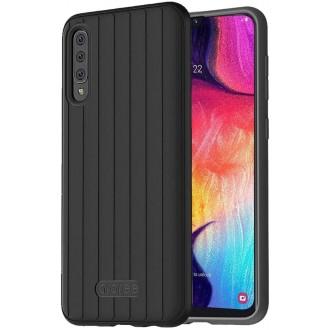 """Juodas dėklas """"Araree Airdome"""" Samsung Galaxy A705 A70 telefonui"""