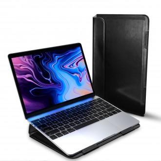 """Juodas dėklas Dux Ducis """"Hefi"""" MacBook 12'"""