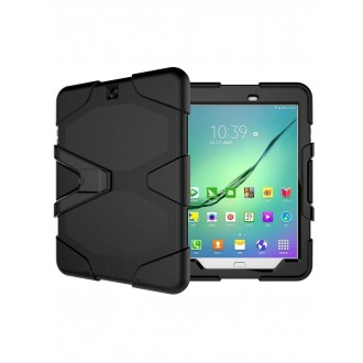 "Juodas dėklas ""Full Protect"" Samsung T810 / T813 / T815 Tab S2 9.7"""