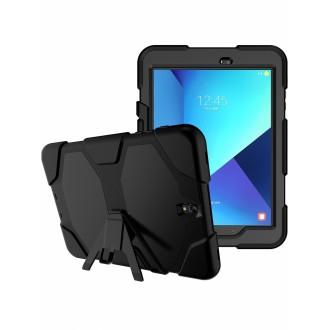 """Juodas dėklas """"Full Protect"""" Samsung T820 / T825 Tab S3 9.7"""
