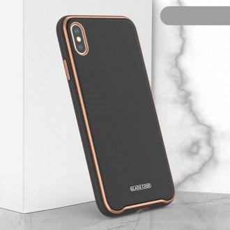 """Juodas dėklas """"Glass Case"""" Apple Iphone XR telefonui"""