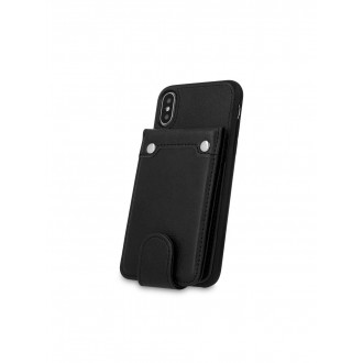 "Juodas dėklas Samsung Galaxy J415 J4 Plus 2018 telefonui ""Pocket Case"""