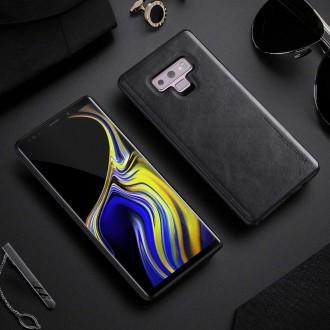Juodas dėklas X-Level Earl III Samsung Galaxy A750 A7 2018 telefonui