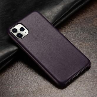 Juodas dirbtinės odos dėklas telefonui Iphone X / XS