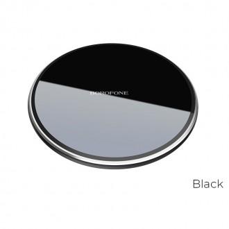 Juodas įkroviklis belaidis Borofone BQ3 (10W)