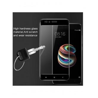 5D lenktas juodas apsauginis grūdintas stiklas Huawei Mate 10 Lite  telefonui