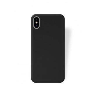 Juodas dėklas Rubber TPU Naujajam Samsung S21 Ultra