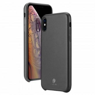 """Juodas silikoninis dėklas Apple Iphone XS Max telefonui Dux Ducis """"Skin Lite"""""""