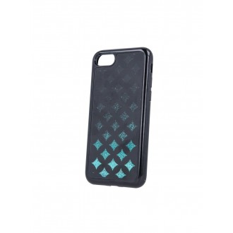 "Juodas silikoninis dėklas Apple iPhone XS Max telefonui ""Liquid Geometric TPU"""