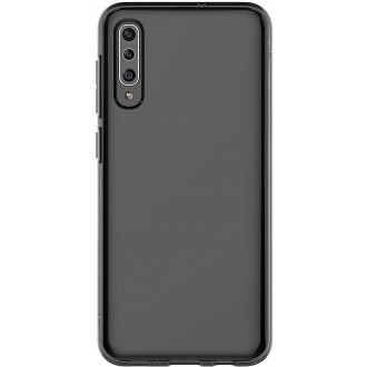 "Juodas silikoninis dėklas ""Araree A Cover"" Samsung Galaxy A505 A50 / A507 A50s telefonui"