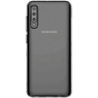 """Juodas silikoninis dėklas """"Araree A Cover"""" Samsung Galaxy A705 A70 telefonui"""