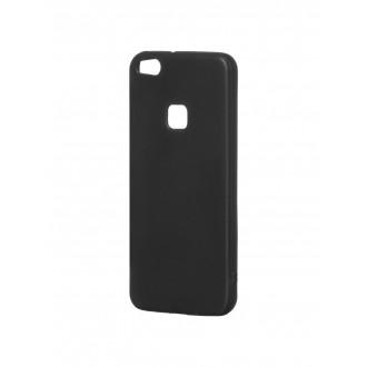 """Juodas silikoninis dėklas Huawei P10 Lite telefonui """"Mercury Soft Feeling"""""""