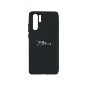 """Juodas silikoninis dėklas Huawei P30 Pro telefonui """"Mercury Soft Feeling"""""""