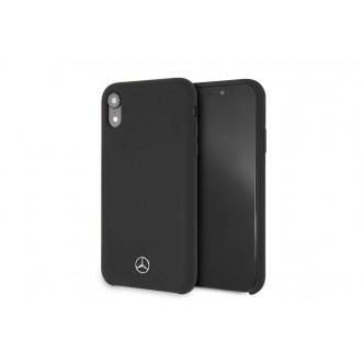 """Juodas silikoninis dėklas """"Mercedes"""" MEHCI61SILBK telefonui Apple Iphone XR"""
