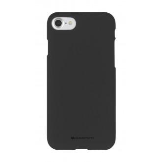 """Juodas silikoninis dėklas Samsung Galaxy A11 telefonui """"Mercury Soft Feeling"""""""