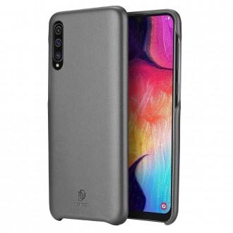 """Juodas silikoninis dėklas Samsung Galaxy A750 A7 2018 telefonui Dux Ducis """"Skin Lite"""""""