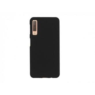 "Juodas silikoninis dėklas Samsung Galaxy A750 A7 2018 telefonui Mercury Goospery ""Soft Jelly Case"""