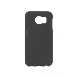 """Juodas silikoninis dėklas Samsung Galaxy G920 S6  telefonui Mercury Goospery """"Soft Jelly Case"""""""