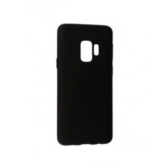 """Juodas silikoninis dėklas Samsung Galaxy G960 S9 telefonui Mercury Goospery """"Soft Jelly Case"""""""