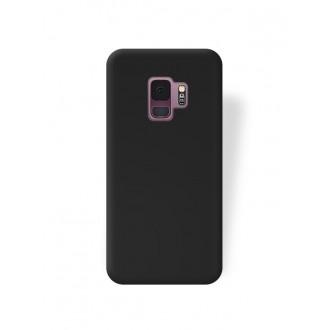 """Juodas silikoninis dėklas Samsung Galaxy G960 S9 telefonui """"Rubber TPU"""""""