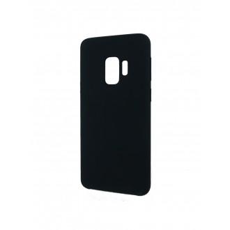 """Juodas silikoninis dėklas Samsung Galaxy G960 S9 telefonui """"Silicone Cover"""""""
