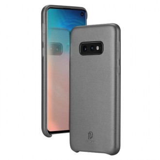"""Juodas silikoninis dėklas Samsung Galaxy G970 S10e telefonui Dux Ducis """"Skin Lite"""""""