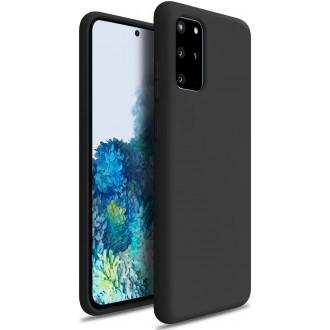 """Juodas silikoninis dėklas Samsung Galaxy G986 S20 Plus telefonui """"Silicone Lite"""""""