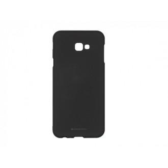 """Juodas silikoninis dėklas Samsung Galaxy J415 J4 Plus 2018 telefonui Mercury Goospery """"Soft Jelly Case"""""""