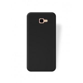 """Juodas silikoninis dėklas Samsung Galaxy J415 J4 Plus 2018 telefonui """"Rubber TPU"""""""